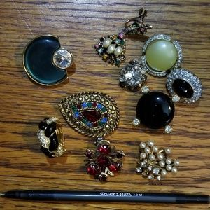 10 PC Single Earring Lot -Repurpose Craft Repair
